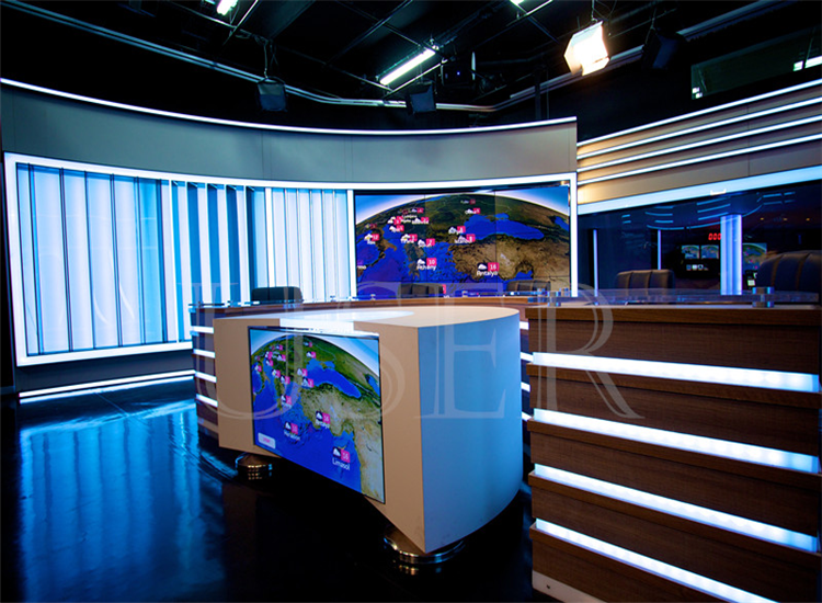 Bangladesh TV Studio, 46inch LCD Video Wall, 3x3, 3x5, 3x6, 3x5