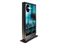 43'' to 55'' Floor standing double sided ultra thin advertising display
