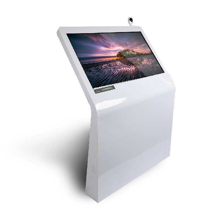 Floor Stand Shopping Mall Advertising Display Touch Screen Kiosk